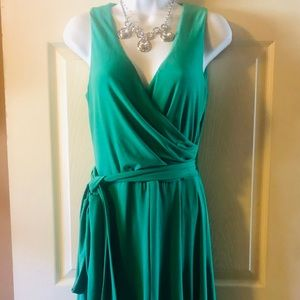 Ralph Lauren Retro Green Sleeveless Size 4